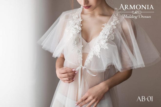 Будуарный халат AB-01 Armonia