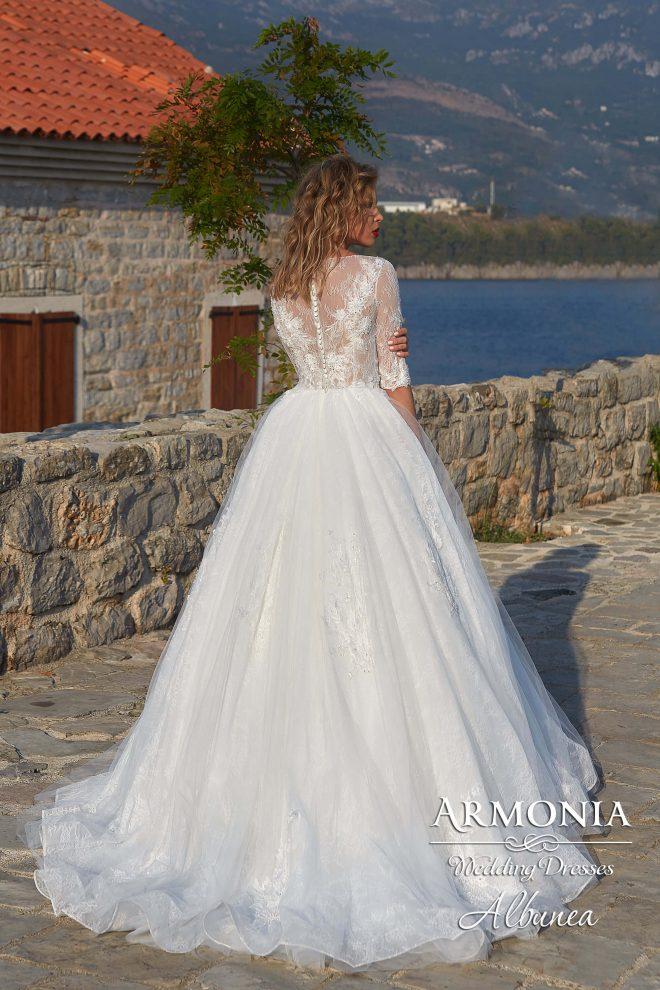 Пишное свадебное платье Albunea