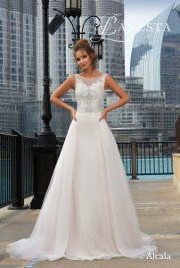 Свадебное платье Alcala Lanesta