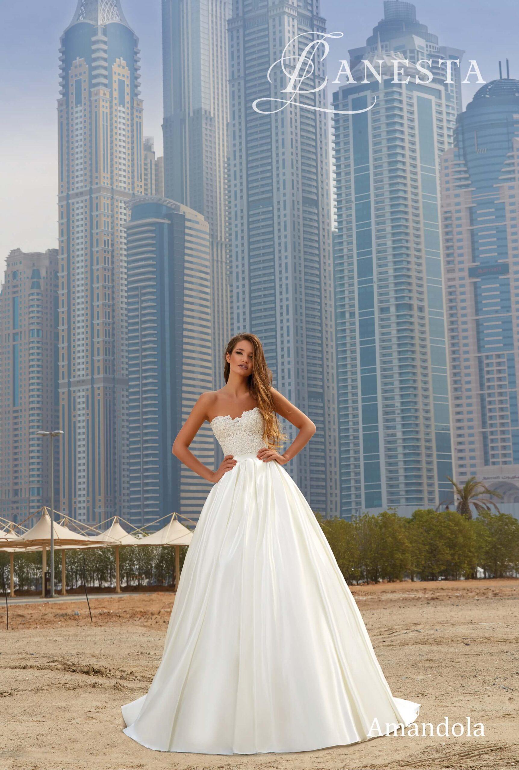 Свадебное платье Amandola Lanesta