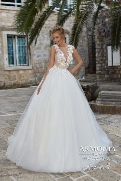 Пышное свадебное платье Artemide