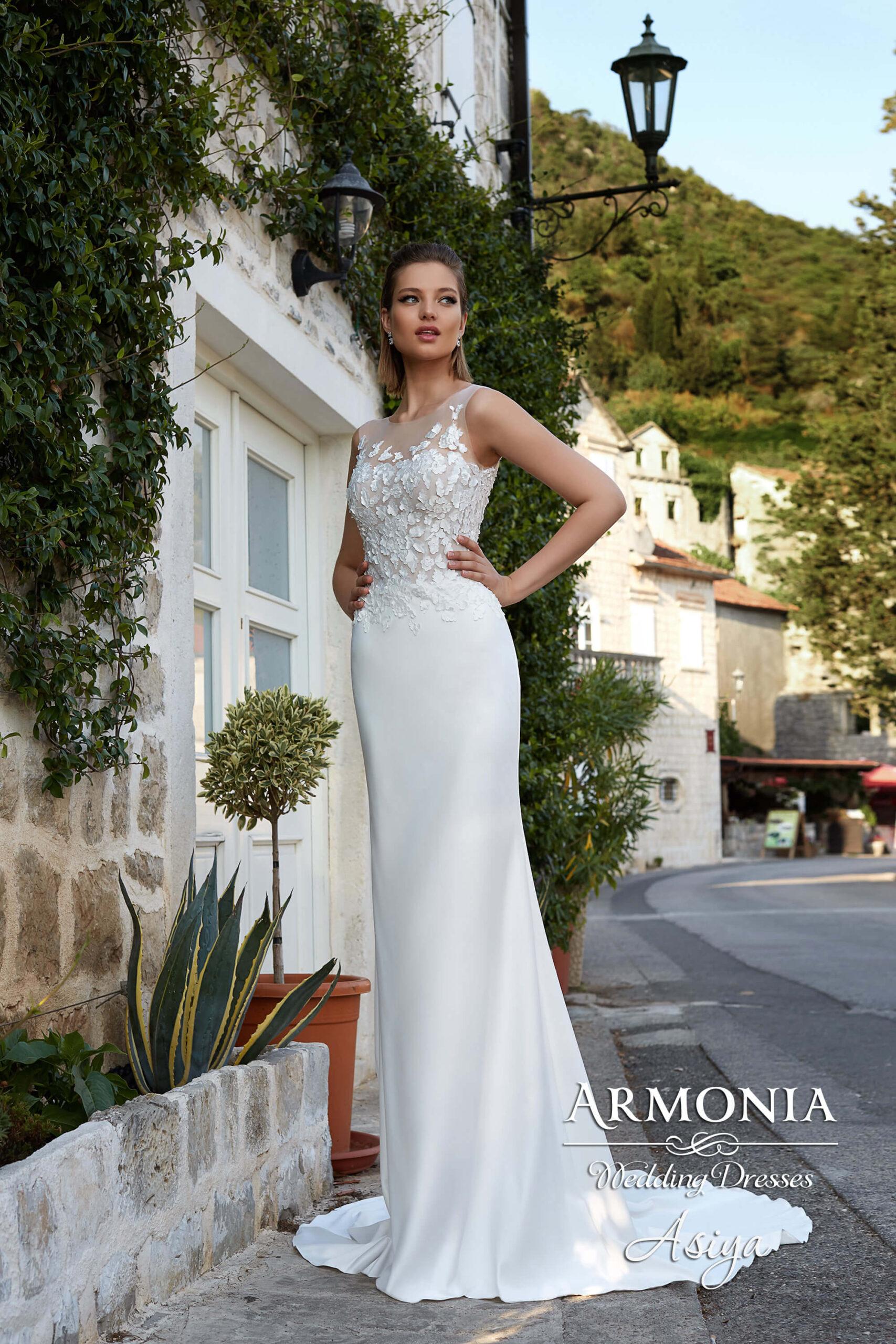 Весільна сукня Asiya А-силуету