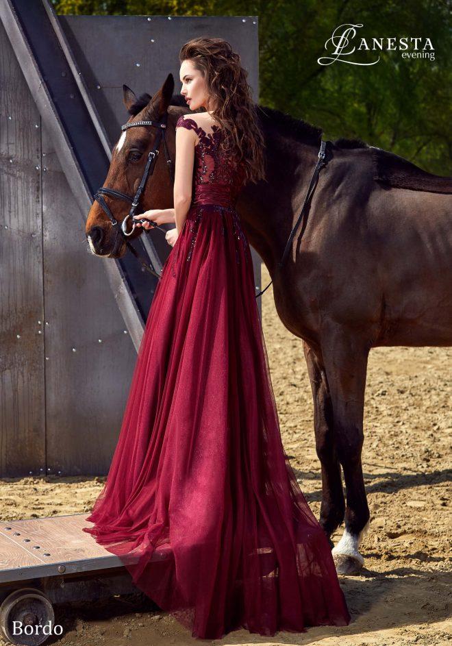 Вечірня сукня Bordo Lanesta