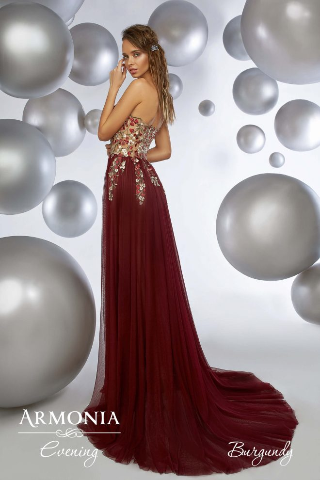 Вечернее платье Burgundy Armonia