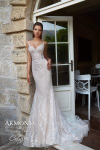 Весільна сукня Calypso силуету Годе