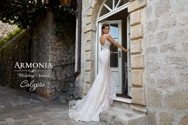 Свадебное платье Calypso силуэта Годе