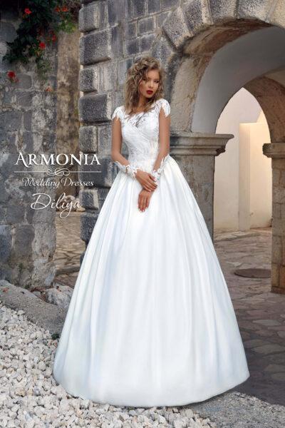 Весільна сукня А-силуету Diliya