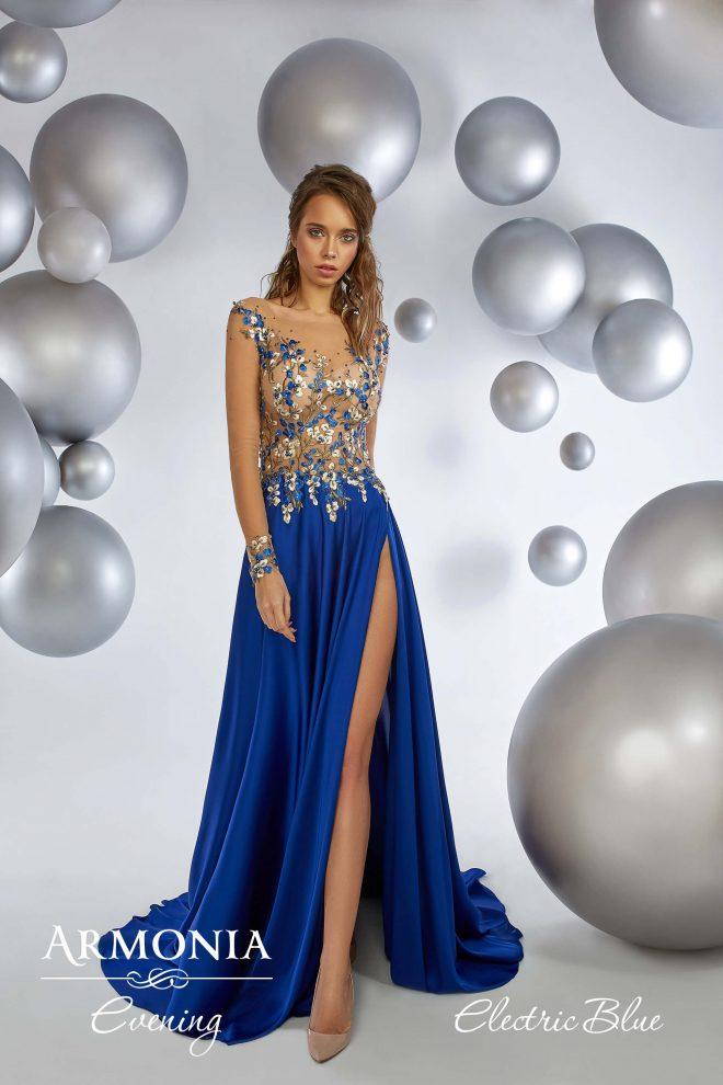 Вечірня сукня Electric blue Armonia