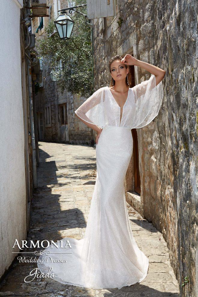 Весiльна сукня Giada силуету Годе