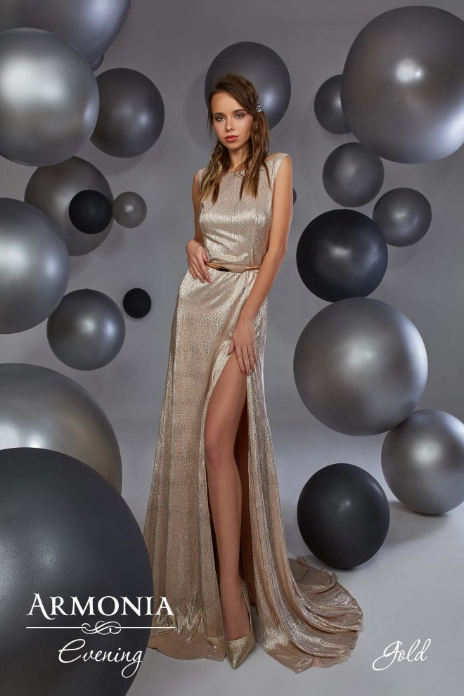 Вечірня сукня Gold Armonia