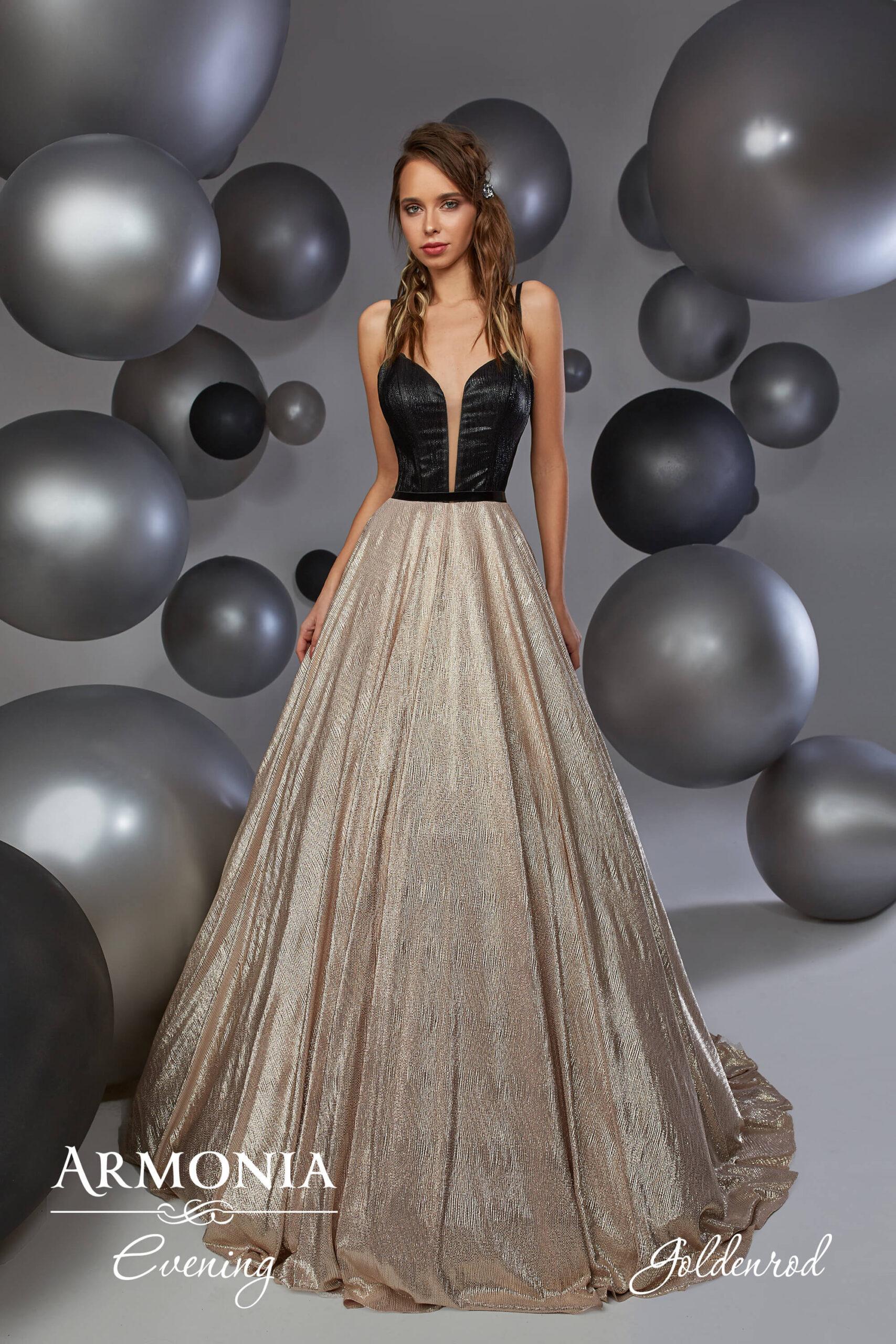 Вечірня сукня Goldenrod Armonia
