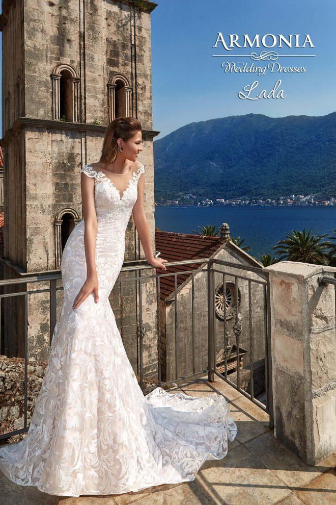 Весільна сукня силуету годе Lada
