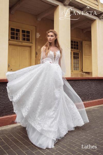 Весiльна сукня Lathes