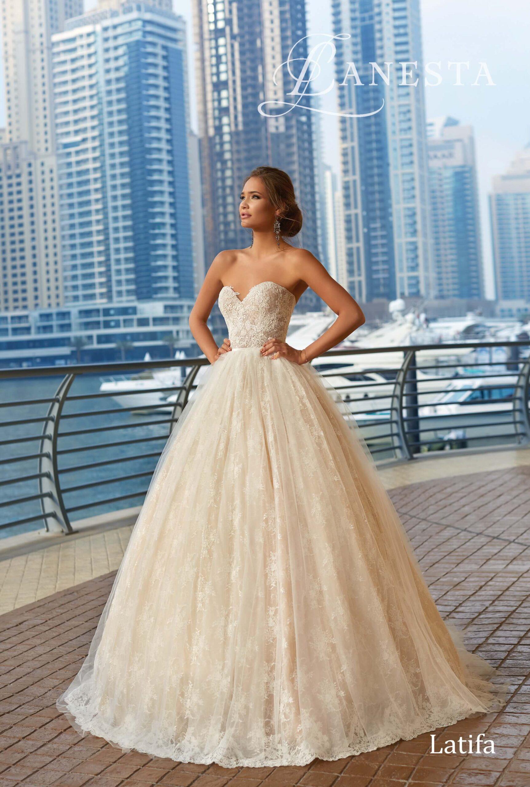 Свадебное платье Latifa Lanesta