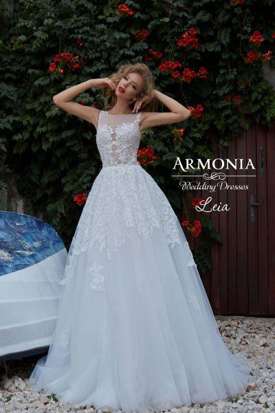 Пышное свадебное платье Leia