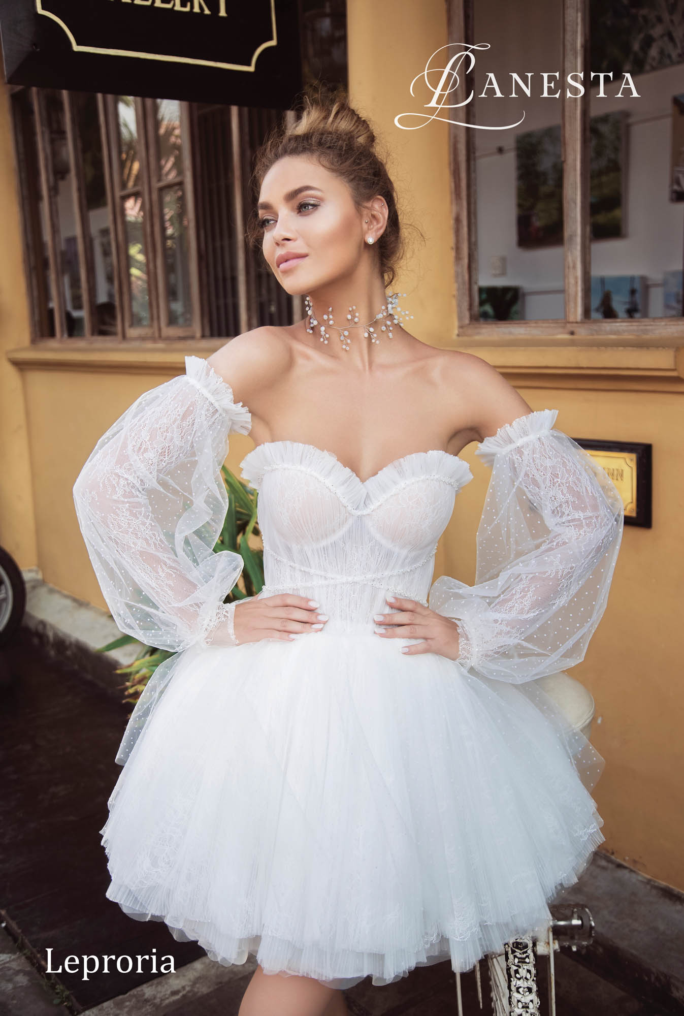 Весiльна сукня Leproria