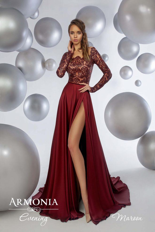 Вечірня сукня Maroon Armonia