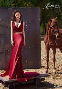 Вечернее платье Merlo Lanesta