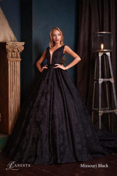 Вечірня сукня Missouri Black