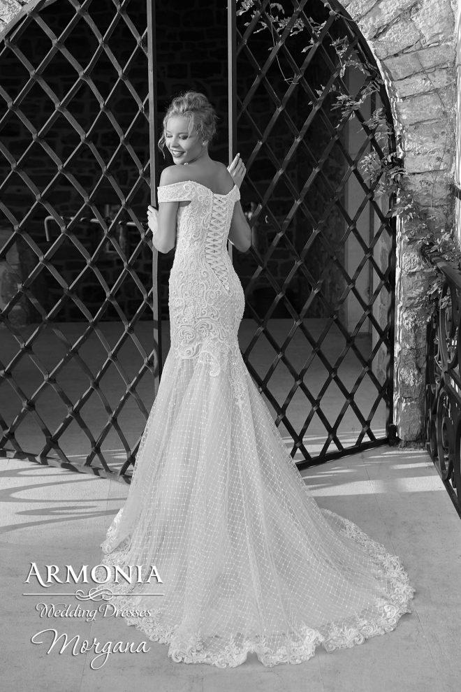Весільна сукня силуету годе Morgana