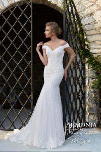 Свадебное платье силуэта годе Morgana