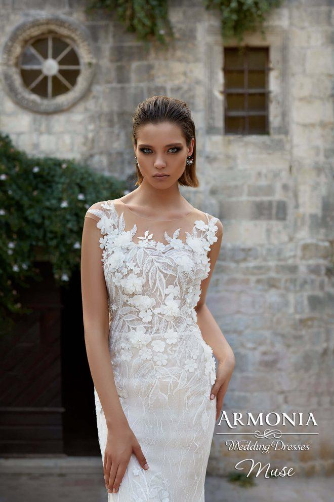 Весільна сукня Muse силуету годе
