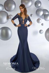 Вечернее платье Navy blue Armonia
