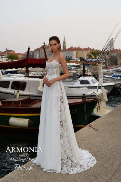 Весільна сукня Pairek силуету годе