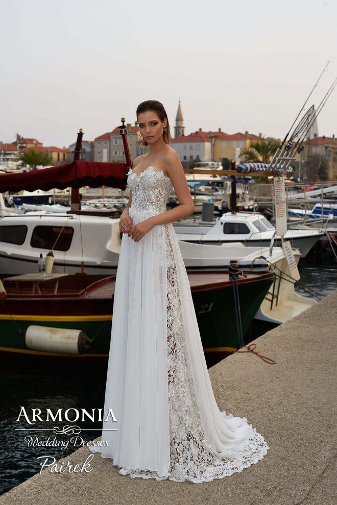 Свадебное платье Pairek силуэта годе