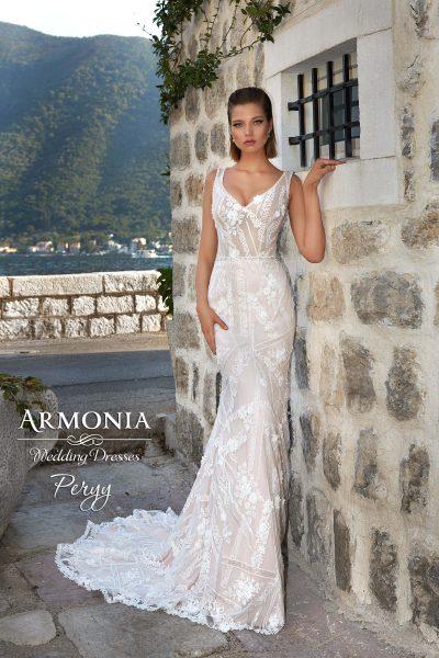 Весільна сукня Perry силуету годе