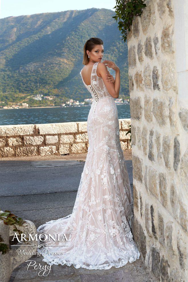 Свадебное платье Perry силуэта годе