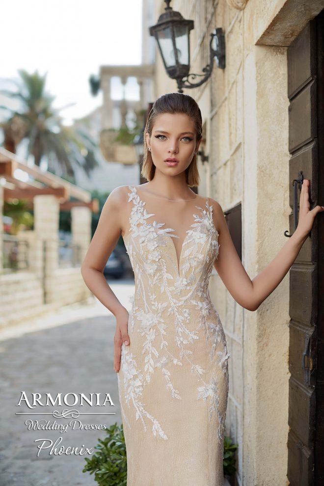 Весільна сукня силуету годе Phoenix