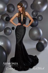 Вечернее платье Rich black Armonia