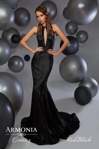Вечірня сукня Rich black Armonia