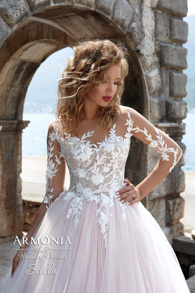 Пышное cвадебное платье Stella