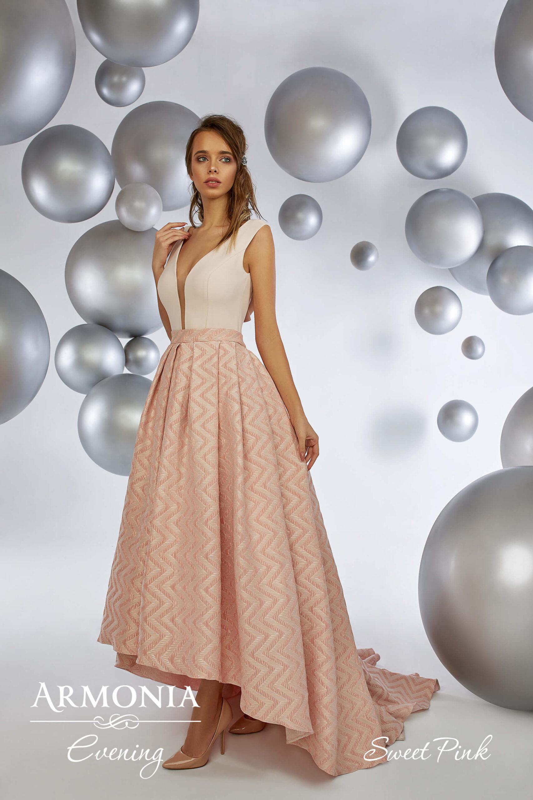 Вечерне платье Sweet Pink Armonia