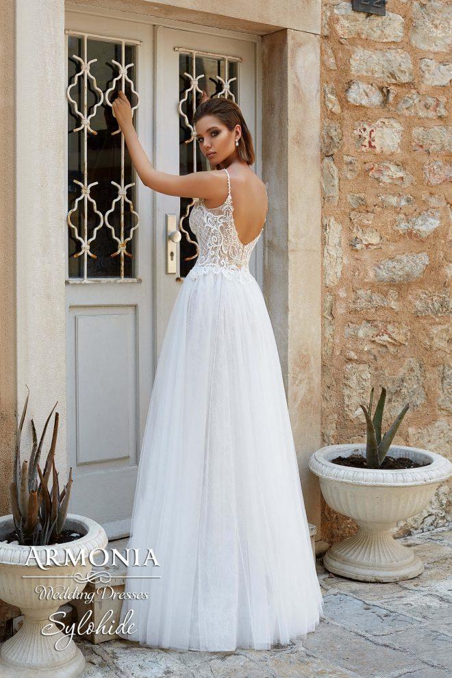 Свадебное платье Sylphide А-силуэта