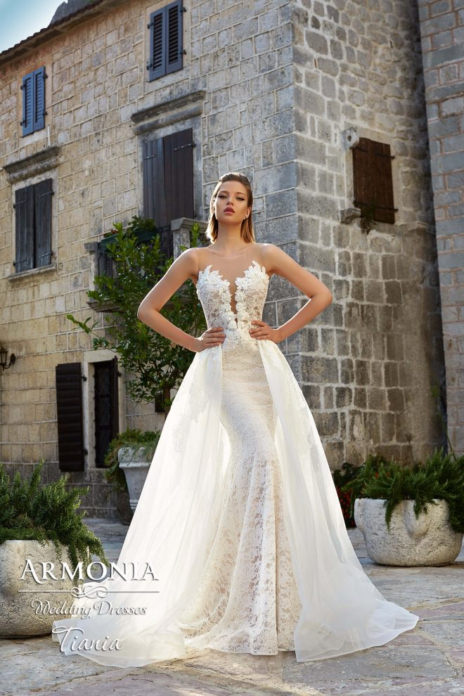 Весільна сукня силуету русалка Tiania