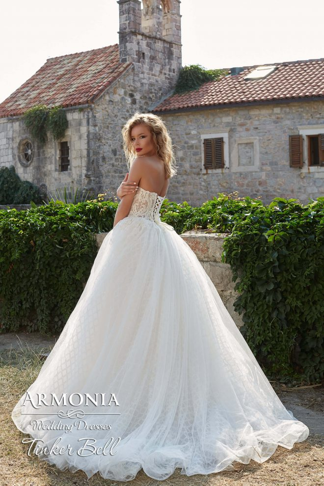 Пышное свадебное платье Tinker Bell