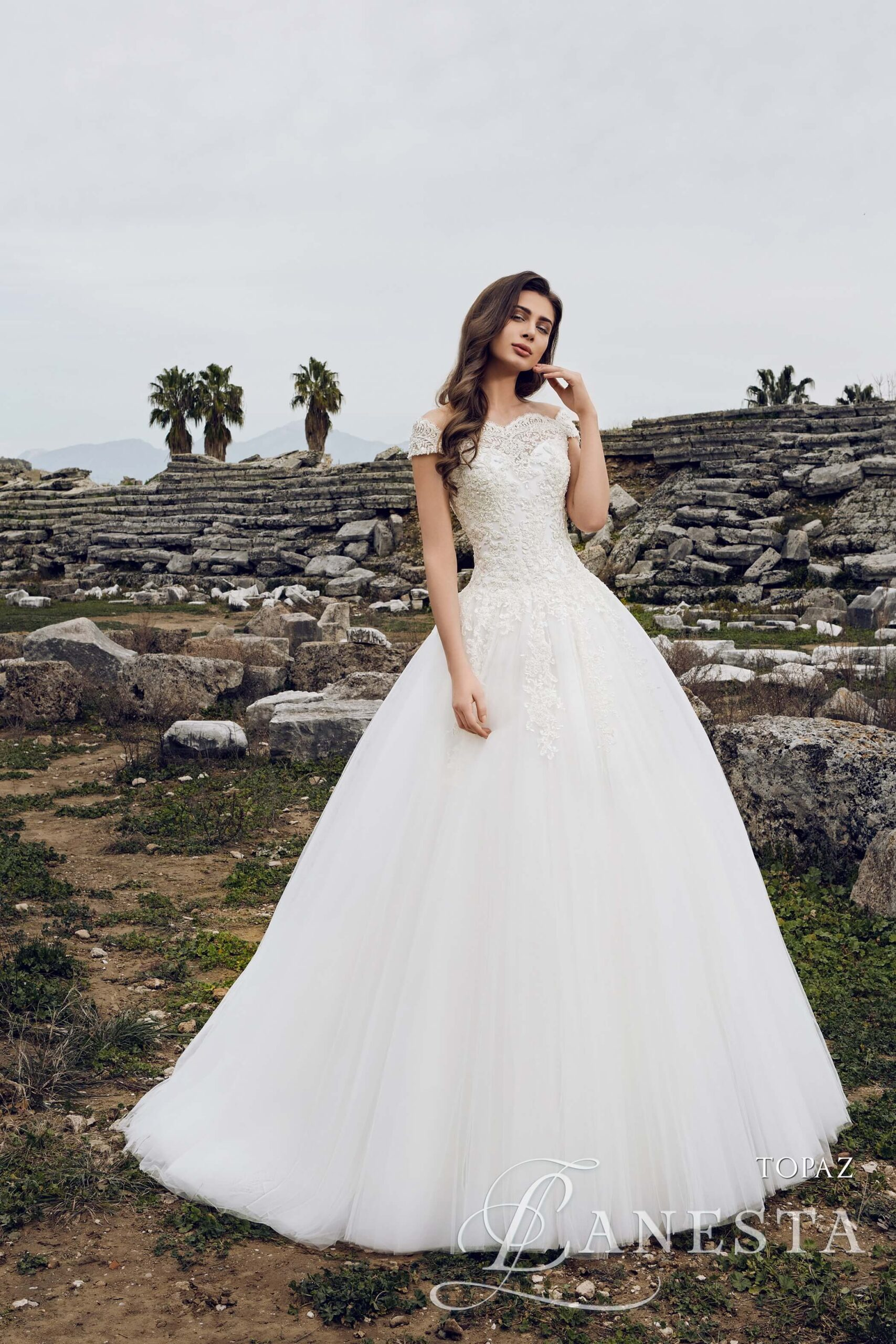 Свадебное платье Topaz Lanesta