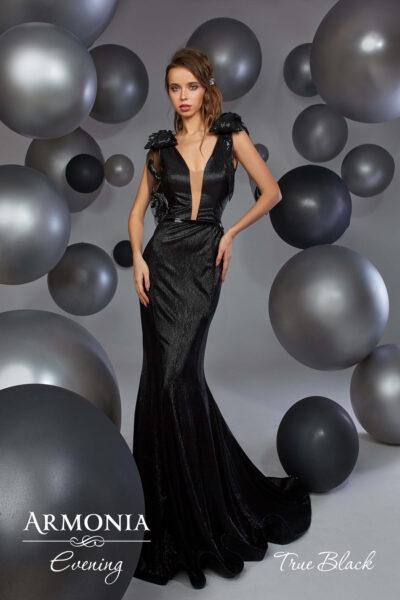 вечернее платье True black от Armonia